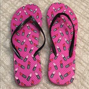 Shoes - Lipstick Flip Flops